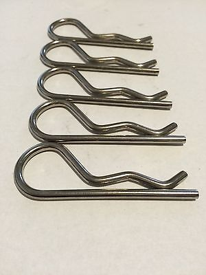 """R-clip,Cotter pin, Stainless Steel 2-15/16"""" X 3/4"""" (5)"""