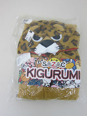 Sazac Kigurumi Adult Leopard Costume - Adult One Size - New