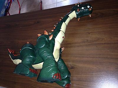 ImagiNext SPIKE The Ultra Green Dinosaur Fisher Price w/ charger NO Remote