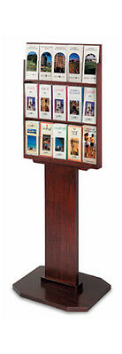 Wood Literature Rack, Brochure Holder, Brochure Stand, Literature Stand