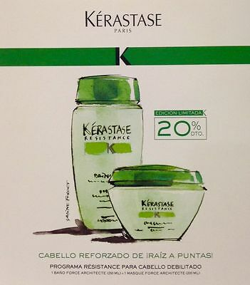 Bain Force Architecte 250ML + Masque Force Architecte 200ML Kerastase