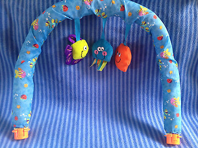 Evenflo Mega Exersaucer Beach Theme Soft Toy Arch Replacement Part