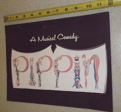 Vintage Theater Program-Pippin~A Musical Comedy