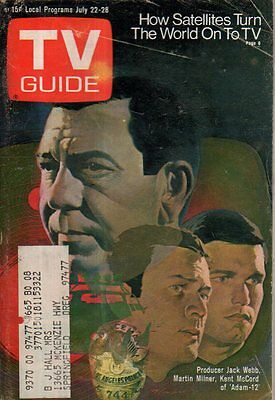 1972 TV Guide July 22 - Jack Webb; Karen Huston; Phil Donahue; The People Movie