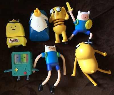 McDonald's  Happy Meal Adventure Time Toys Figures x 7 Boys Girls Gift Set