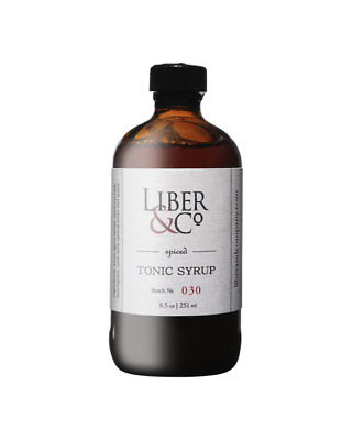 Liber & Co Spiced Tonic Syrup 251ml