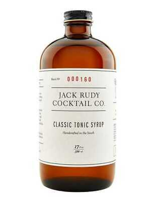 Jack Rudy Cocktail Co Classic Tonic  503ml