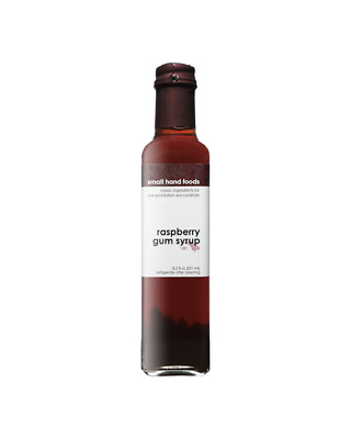 Small Hand Foods Raspberry Gum Syrup 251ml