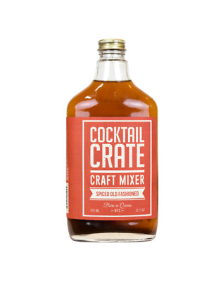 Cocktail Crate Spiced Old Fashioned Syrup 375ml