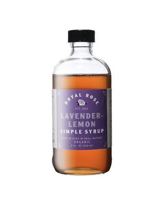 Royal Rose Lavender-Lemon Syrup 236ml