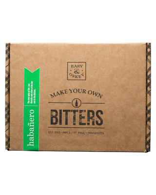 Easy & Oskey Make Your Own Habanero Bitters Kit
