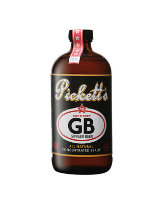 "Pickett's #3 ""Hot n' Spicy' Ginger Beer Concentrated Syrup 473ml"