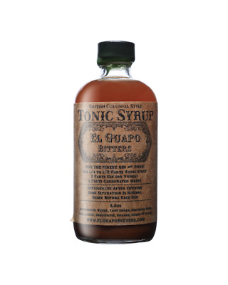 El Guapo Tonic Syrup 250ml