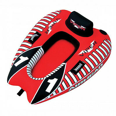 Airhead Viper 1 Towable Ski Tube Inflatable Biscuit Boat Ride