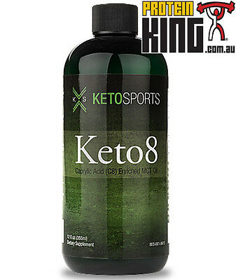 Ketosports Keto8 355Ml Caprylic Acid C8 Enriched Mct Oil Keto Sports Energy 8