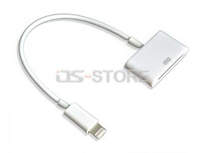 8Pin to 30Pin Adapter Converter Charger Data Cable For Apple iPhone 6 5 5C 5S iP