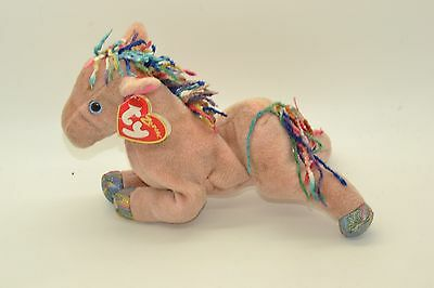 Ty Beanie Babies Plush Toy And Tag Zodiac Horse Retired