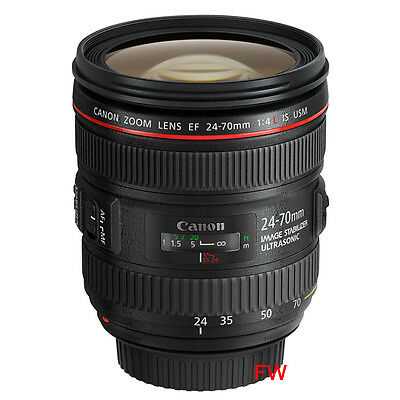 Canon EF 24-70 mm F 4 L IS USM Objectif NEUF