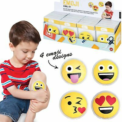COOL IT EMOJI - Kids Cold or Hot Pack Bump Bruises Injury Soother Reusable!!!