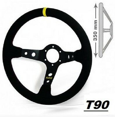 Volant RRS RALLYE tulipage 90mm 3 branches