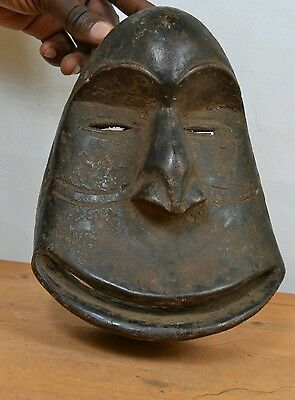 "Very old  Mask ""soko mutu"" from the Hemba people of DR Congo"