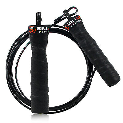 High Speed LightWeighted Adjustable Jump Rope Steel Cable -Gym Exercise Fitness