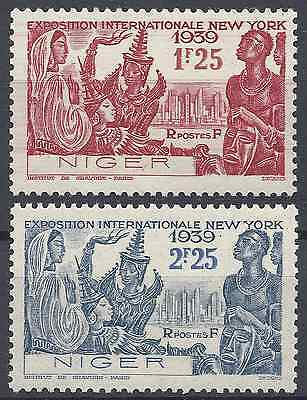 France Colonie Niger N°67 + N°68 - Neuf ** Luxe Avec Gomme D'origine - Cote 3€