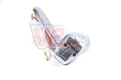Alloy Light Horn And Dip Switch Black Buttons To Fit Lambretta Gp 200 150 125