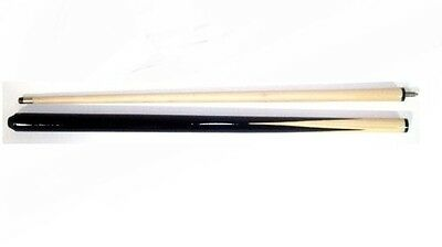 """2 Piece Pool / Snooker 48"""" Cues. Ideal For Small Spaces And Children"""
