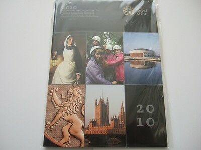 2010 Uk Brilliant Uncirculated Coin Set New And Still Royal Mint Sealed.