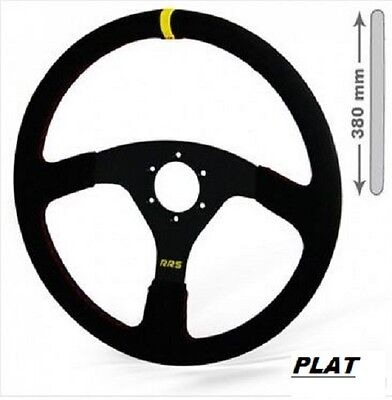 Volant RRS OFF ROAD 380 mm plat 3 branches