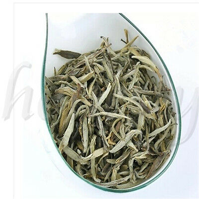 Mo Li Bai Hao Yin Zhen Silver Needle White Loose Tea China Fujian Organic Tea
