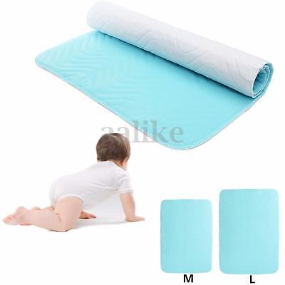 Absorbent Washable Reusable Incontinent Underpad Baby Infant Bed Urine Pad New