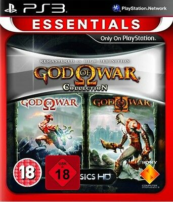 PS3 Spiel God of War Collection 1 + 2 Neu&OVP Playstation 3 Paketversand