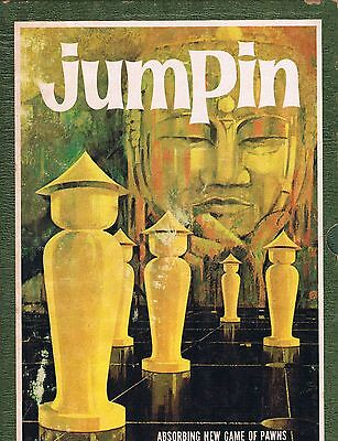 Jumpin A 3M Bookshelf Game Board Game of Pawns 1964