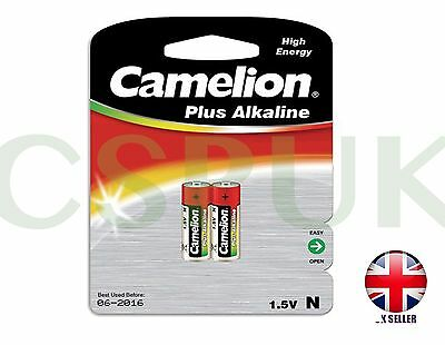 Pair of Camelion LR1 Lady Plus Alkaline N Battery Blister Card (Pack of 2)
