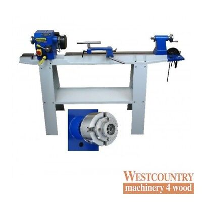 Charnwood W813P Floorstanding Woodturning Lathe Package Deal 1