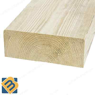 Treated Timber 5x2 Tanalised Pressure Treated Timber C16 C24 47mm x 125mm