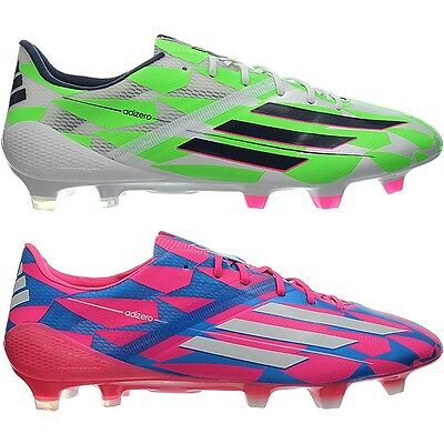 Adidas F50 adizero FG men's soccer cleats pink or white extra sockliners NEW