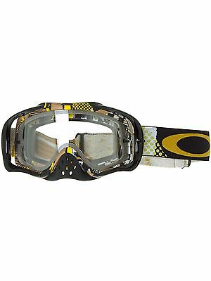 Oakley MX Brille Snowcross Mosh Pit Gold - Clear