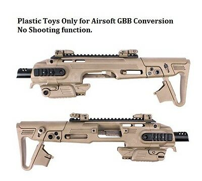 TOYS CAA Airsoft RONI Conversion Kit DE for GBB WE 17 Series CAD-SK-01-DE