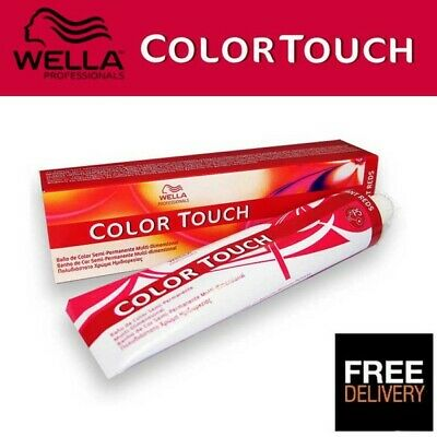 WELLA COLOR TOUCH SEMI PERMANENT TINT/DYE HAIR COLOR 60ml