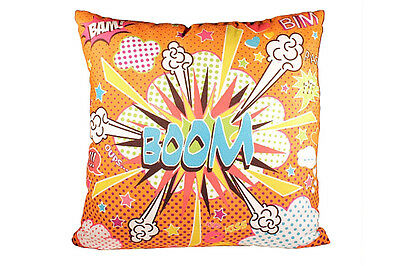 Coussin Comics Orange 40X40CM