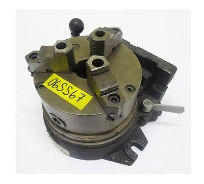"""VERTEX 6"""" Super Spacer 3 Jaw Chuck w/ Top Jaws 24 Divisions"""