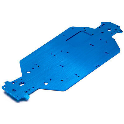 HSP Racing 1/10 RC 94111 94107 94170 Upgrade Parts Aluminum Chassis 04001 Blue
