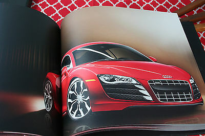 Rare 2009 Audi R8 Dealer Book Black With Cover
