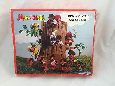 Vintage 1974 MONCHHICHI Monkey Parker Canada JIGSAW PUZZLE Complete