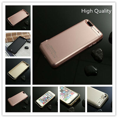 10000mAh External Battery Backup Charger Case Cover Power Bank For iPhone6 4.7''
