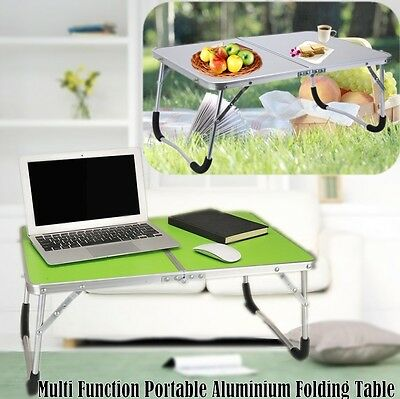 Portable Picnic Camping Folding Table Laptop Desk Stand PC Notebook Bed Tray