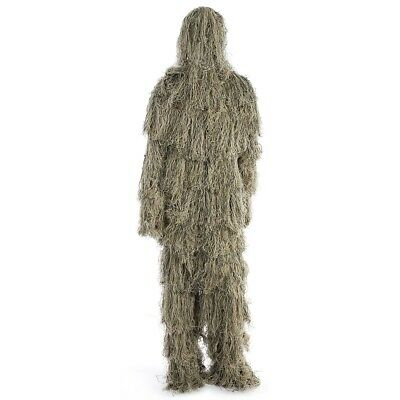 Camouflage Jungle Hunting Ghillie Suit Set Woodland Sniper Birdwatching Clothing